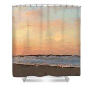 Beach Sand And Sun Shower Curtain