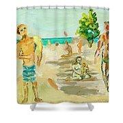 Beach Scence Shower Curtain