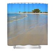 Beach Scene 3 Shower Curtain