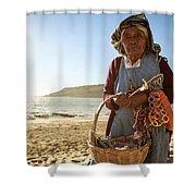 Beach Seller Shower Curtain