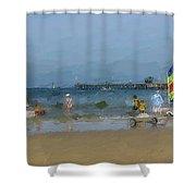 Beach Serene  Shower Curtain