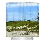 Beach Solitude Shower Curtain
