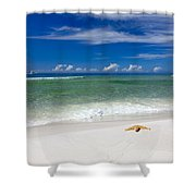 Beach Splendour Shower Curtain