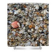 Beach Stones Shower Curtain