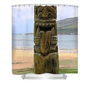 Beach Tiki Shower Curtain