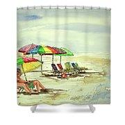 Beach View Shower Curtain