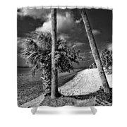 Beach Walk - Port Charlotte Beach Park, Florida Shower Curtain