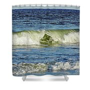 Beach Waves Shower Curtain