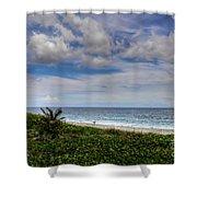Beach Weather Shower Curtain