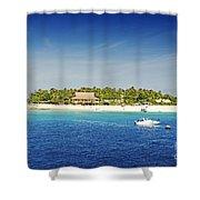 Beachcomber Island Shower Curtain