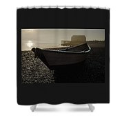 Beached Dory 2 Shower Curtain
