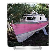Beached Dreams At Port Canaveral Shower Curtain