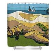 Beaches Shower Curtain