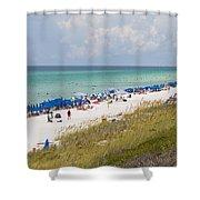 Beaches Of South Walton  Shower Curtain