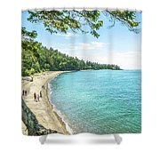 Beaches Of The Pacific Northwest Shower Curtain