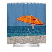 Beachin' 2  Shower Curtain