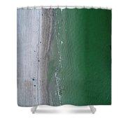 Beachin Shower Curtain