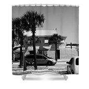 Beachside Bar Shower Curtain