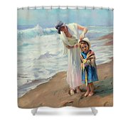 Beachside Diversions Shower Curtain