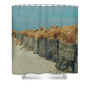 Beachside Shower Curtain