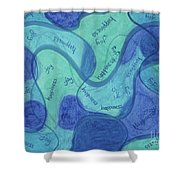 Beachy Three Shower Curtain