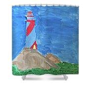 Beacon In Te Field Shower Curtain