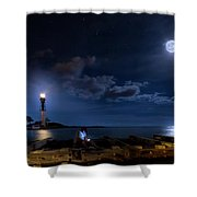 Beacons Of The Night Shower Curtain