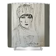 Beaded Chapeau Shower Curtain