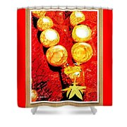 Beads And Baubles Shower Curtain
