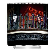 Beads In The French Quarter Shower Curtain