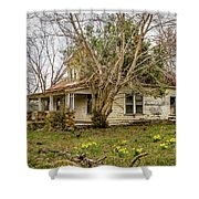 Beale Rd. In Bloom Shower Curtain