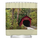 Bean Blossom Bridge I Shower Curtain