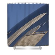 Bean Reflection Shower Curtain