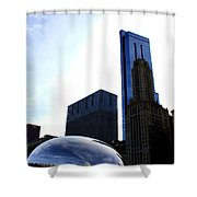 Beanland Shower Curtain
