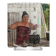 Beans Cooking Shower Curtain