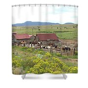 Bear Basin Ranch Shower Curtain