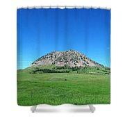 Bear Butte On Summer Day Shower Curtain