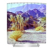 Bear Creek Trail Shower Curtain