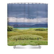Bear Lake From Us 89 Shower Curtain