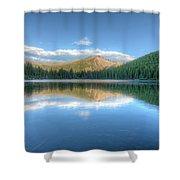 Bear Lake In Rocky Mountain National Park 2x1 Shower Curtain