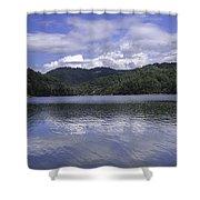 Bear Lake North Carolina Shower Curtain