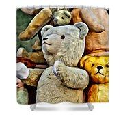 Bears For Sale Shower Curtain
