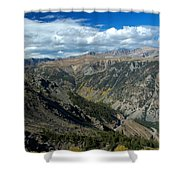 Beartooth Mountain Vista Shower Curtain