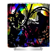 Beat Of The Street Shower Curtain