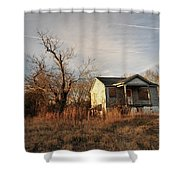 Beat Up Old House Shower Curtain