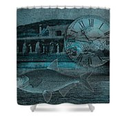 Beating The Blues Shower Curtain