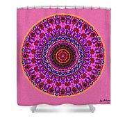 Beatitude No. 4 Mandala Shower Curtain