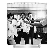 Beatles And Clay, 1964 Shower Curtain by Granger
