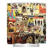 Beatles Collage 1 Shower Curtain