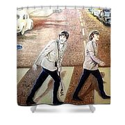 Beatles Other Abbey Road  Shower Curtain